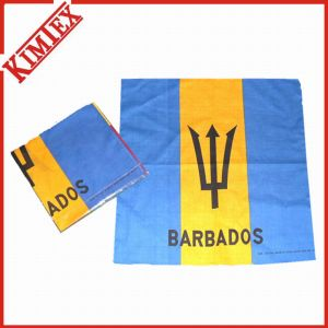 Unisex Cotton Promotional Square Bandana pictures & photos