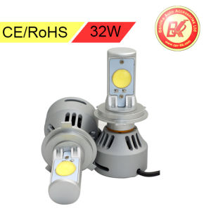 CREE 32W H4 LED Replacement Headlight Kits Hi Lo Beam
