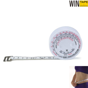 150cm (60inch) Professional Round Inch BMI Measuring Tape Body Measuring Tape Promotional Medical Gift with High Quality pictures & photos