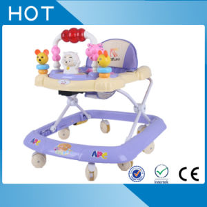 Height Adjustable Electrostatic Painting Frame Baby Walker pictures & photos