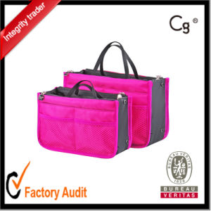 Ladies Cosmetic Bag Korean Polyester Cosmetic Bags pictures & photos