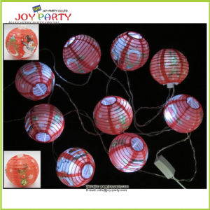 "3"" Printing Paper Lantern String Fairy Lighting Decoration pictures & photos"