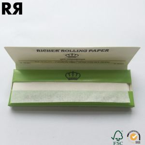 Natural Gum Organic Pure Hemp Paper Smoking Rolling Paper pictures & photos