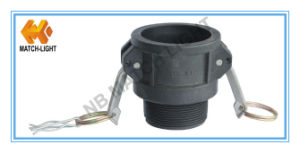 Polypropylen PPR Coupler Type B Male BSPT Threaded Camlock Coupling pictures & photos