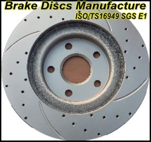 ISO/Ts16949 Certificates Approved Geomet Brake Rotors pictures & photos