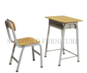 Single Student Desk and Chair for School Classroom Furniture (SZ-SF26) pictures & photos