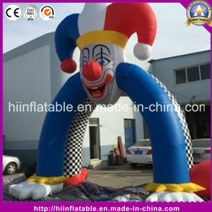 Hot Inflatable Clown Archway Gate Arch for Halloween Decoration pictures & photos