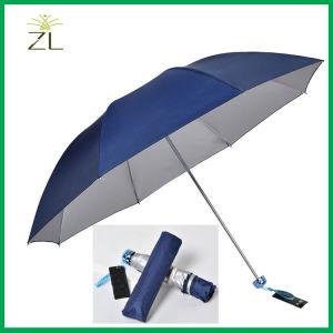 Custom Umbrella Couple Umbrella 3 Folding Umbrella pictures & photos