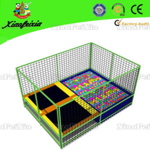 Mini Rectangle Trampoline with Ball Pool (0622D) pictures & photos