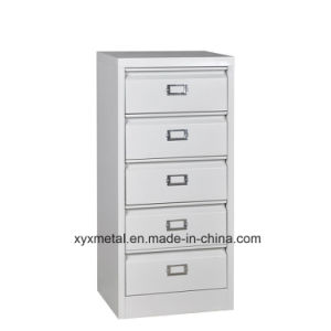 2016 Hot Selling 5 Drawer Filing Storage Cabinet, New Design Top Opening Drawer Cabinet, Desk Side Cabinet pictures & photos