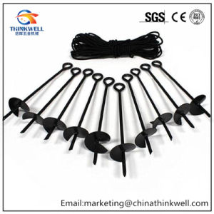 Factory Price Forging Galvanized Eye Ground Earth Anchor pictures & photos