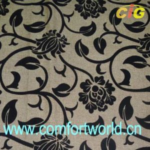Flocking Sofa Fabric (SHSF04240) pictures & photos