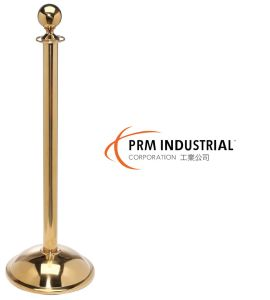 Ball Top Polished Brass Crowd Control Stanchions pictures & photos
