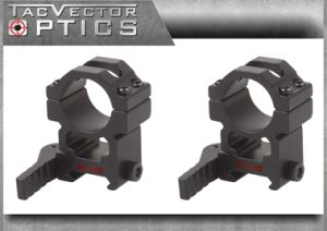 Vector Optics 25.4mm 1 Inch Tactical Quick Release Riflescope High 20mm Picatinny Qd Mount Ring Bracket See Through pictures & photos