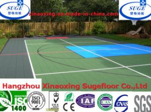 Resurfacing Basketballl Flooring Removable for Backyard Sport pictures & photos