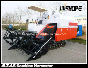 4.5kg/S Feeding Capacity Big Tank Wheat Rice Harvester Machinery pictures & photos