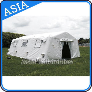 Custom Camouflage Inflatable Tunnel Tent Large Arm Inflatable Camping Tent, Inflatable Army Tent pictures & photos