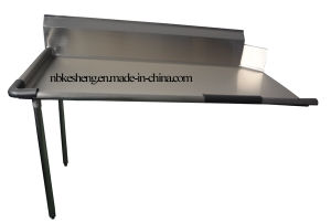 NSF Stainless Steel Dish Table (CDT48L-KS)
