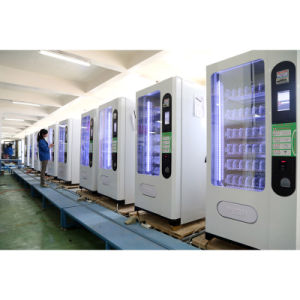 Snacks and Cold Beverage Vending Machine pictures & photos