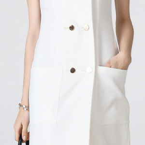 Elagant Office Lady Wear Formal White Dresses pictures & photos