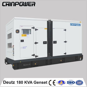 Low Oil Consumption 150kw Deutz Silent Diesel Generator Set