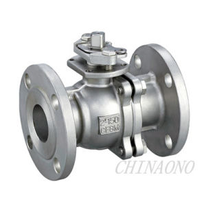 Carbon Steel Mounting Pad Ball Valve with Flange pictures & photos