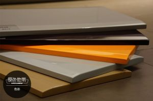 Modern PVC&Lacquer Kitchen Cabinet (zz-075) pictures & photos