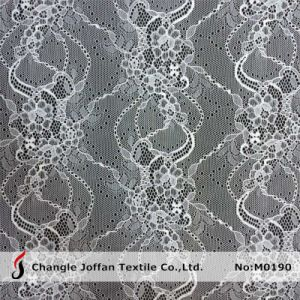 Beautiful Swiss Voile Lace Fabric (M0190) pictures & photos