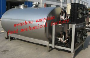 2000L Milk Cooling Tank with Automatic Cip Cleaning System pictures & photos
