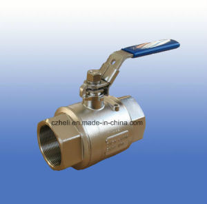 Stainless Steel 2PC DIN3203 M3 Ball Valve 1000wog pictures & photos