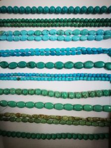Semi Precious Stone Crystal Stablized Turquoise Bead Long Strings pictures & photos