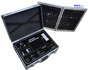 34W AC Output Portable Solar System/Home Solar Generator (SP500A) pictures & photos