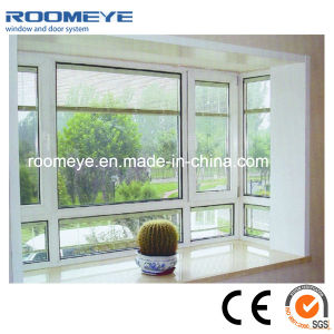 PVC Casement Window with Shading Shutter Inside pictures & photos