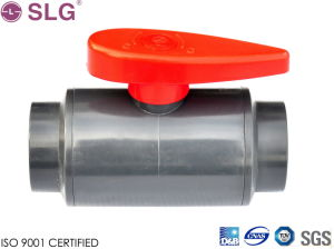 Two Pieces Compact Ball Valve pictures & photos