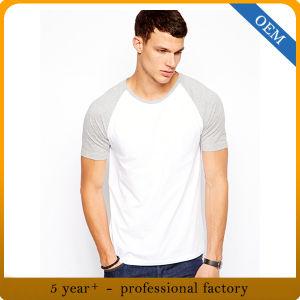 Custom 100% Cotton Raglan Baseball Tee for Men pictures & photos