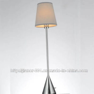 Small Bedside Reading Desk Lamp Light with Fabric Shade pictures & photos
