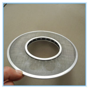 Stainless Steel Bonded Edges Extruder Screen pictures & photos