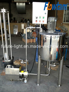 Stainless Steel Emulsifying Mixing Tank with Pump pictures & photos
