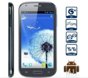 "5.5"" Smart Phone, Note 2, Mtk6577 Dual Core, 1.2GHz, Jelly Bean 4.1 OS, Dual Camera"