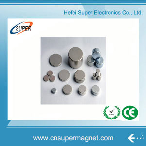 Powerful Sintered NdFeB N38 Disc Magnet pictures & photos