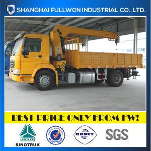 Sinotruk 4X2 Crane 3 Ton Boom Truck pictures & photos