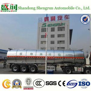 Stainless Steel Cooking Oil Tanker Trailer 42m3 Oil Tank Trailer