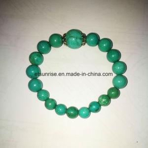Semi Precious Stone Fashion Turquoise Beaded Bracelet pictures & photos