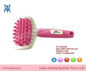Pet Rubber Bath Brush Soft Brush pictures & photos