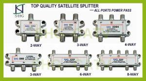 5-2400MHz 2 Way Satellite Splitter (SSPDR2W) pictures & photos