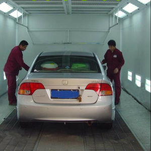 Diesel or Gas Heated Car Spray Booth Powder Coating