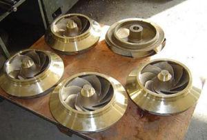 Brass Sand Casting Pump Impeller