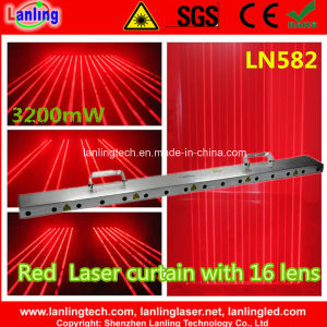 3200MW Red 16-Head Fat-Beam Laser Curtain (LN582) pictures & photos
