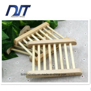 Eco Friendly Simple Shower Natural Wood Soap Box pictures & photos