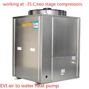 18kw for 120-150 Sq House Heating Working at -35 Degree and Outlett 90 Degree Evi Heat Pump pictures & photos